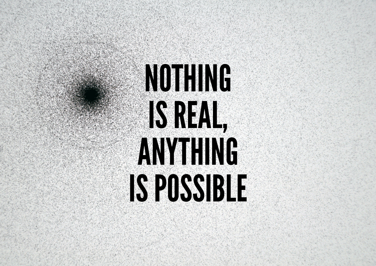 Nothing Is Real, Anything Is Possible cover