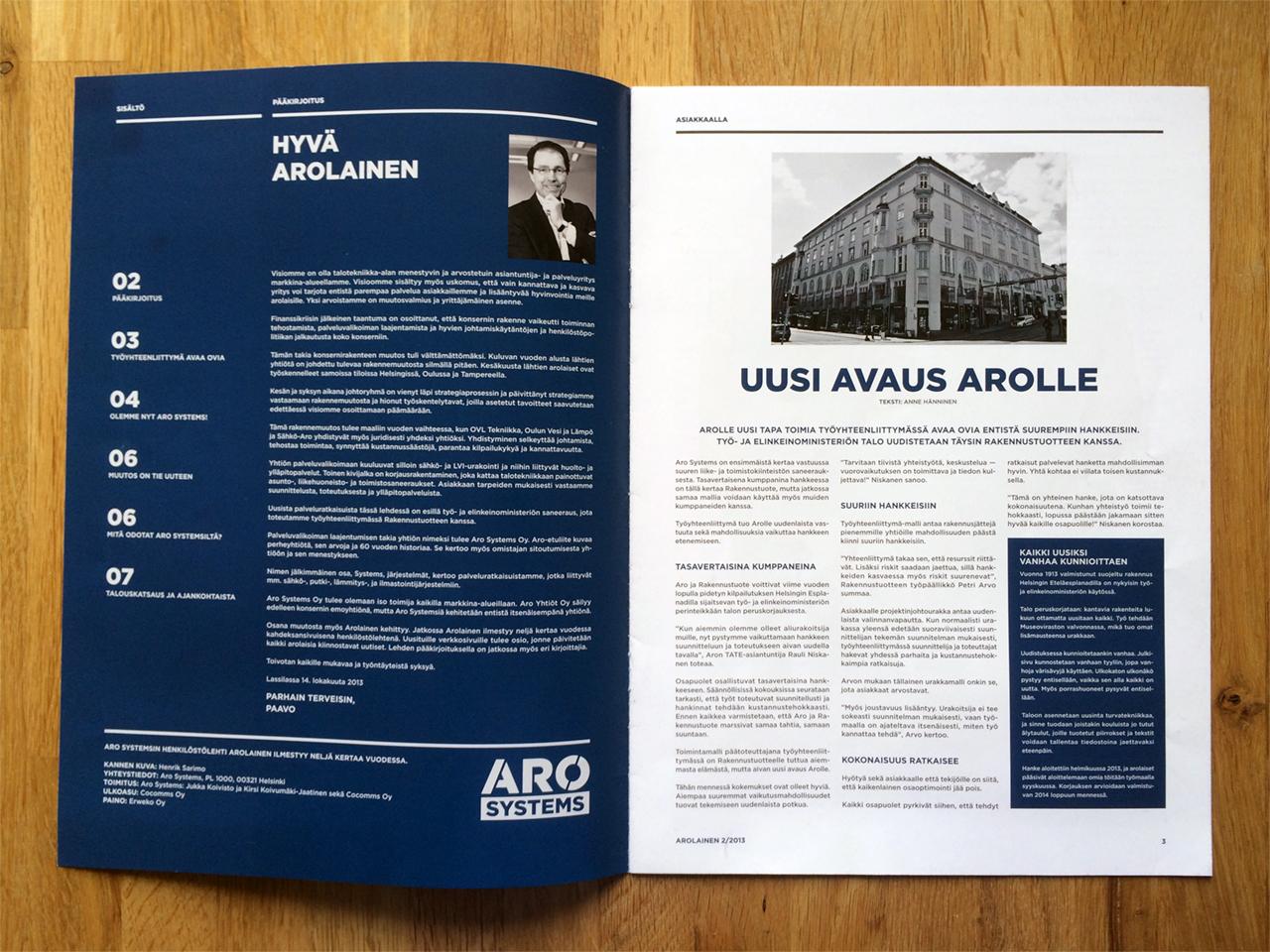 Aro Systems magazine detail 1