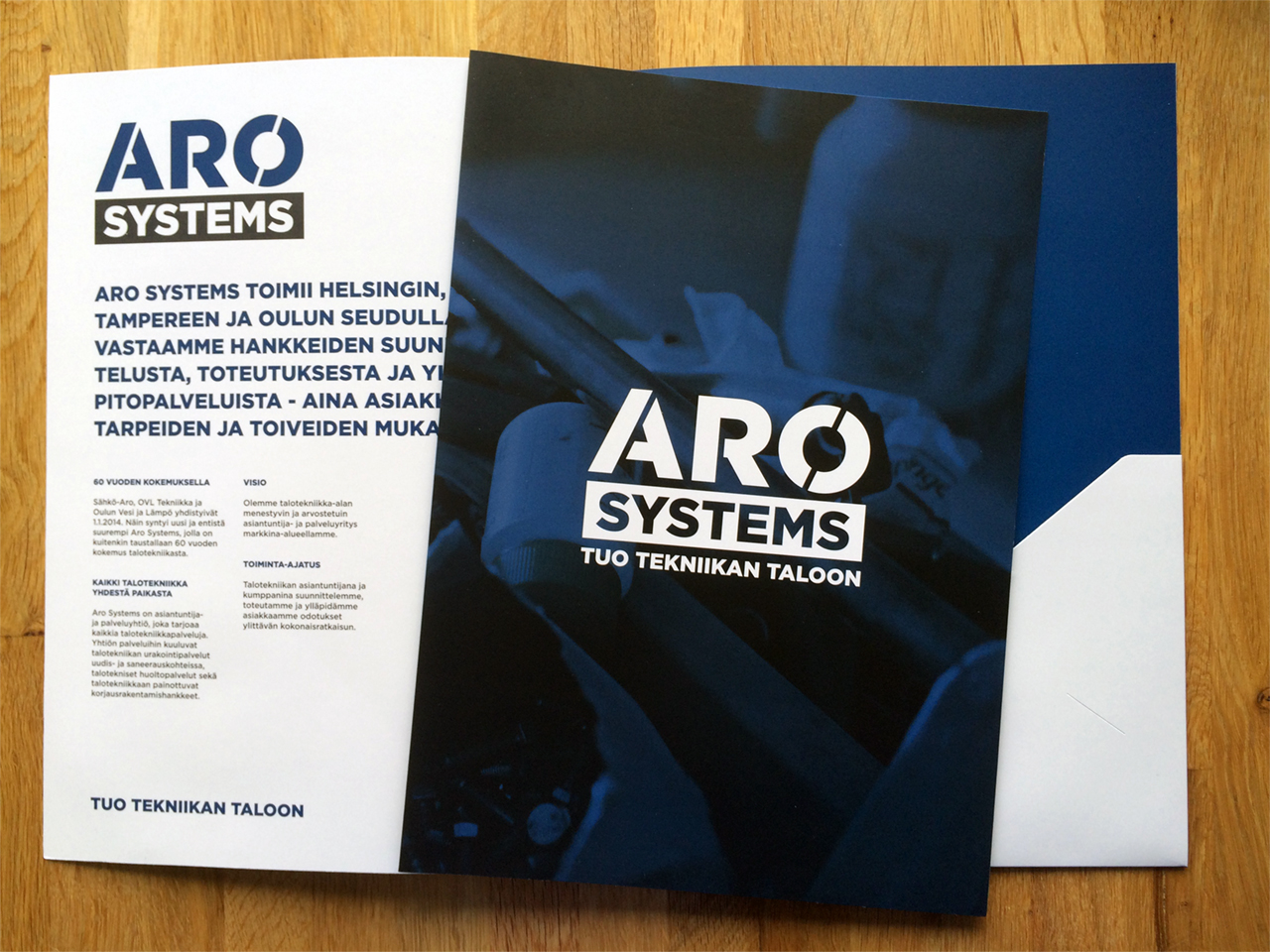 Aro Systems stationery 1