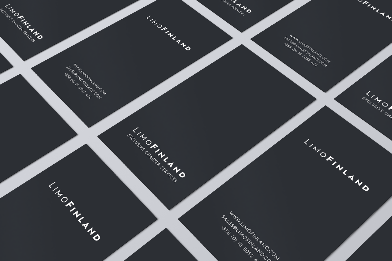 LimoFinland business cards